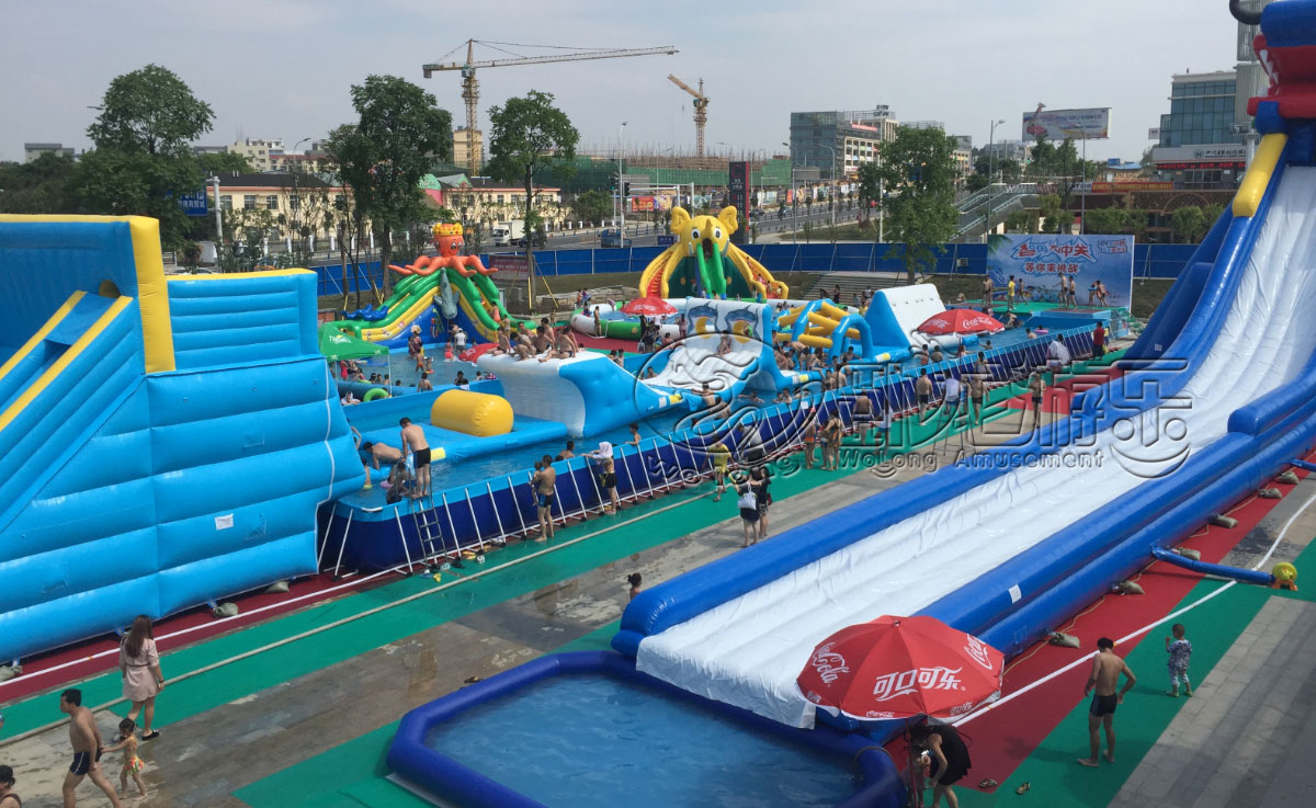郑州市卧龙移动水乐园