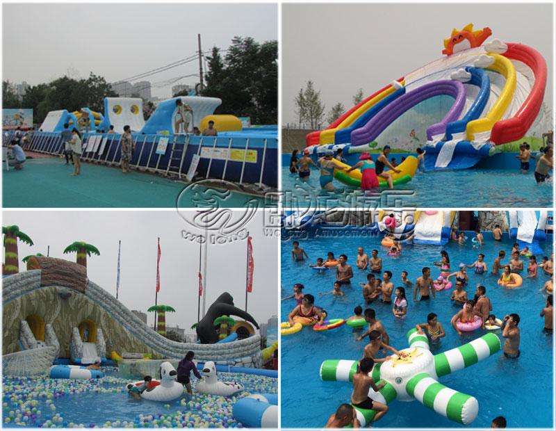 郑州卧龙移动水乐园